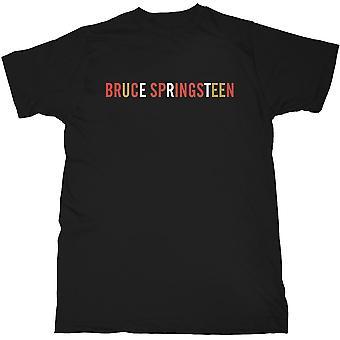 Bruce Springsteen - Logo Men's Medium T-Shirt - Black