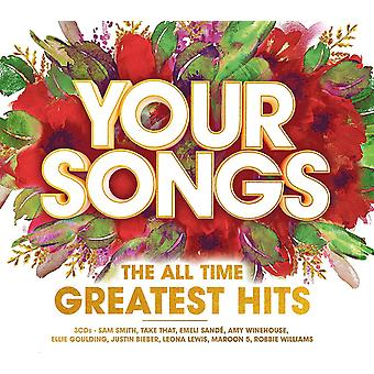 Your Songs All Time Greatest Hits CD