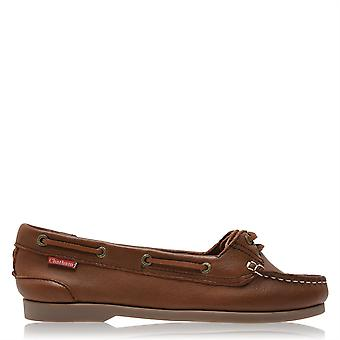 Chatham Womens Harper Boat Shoes Flat Slip On Casual Everyday Footwear
