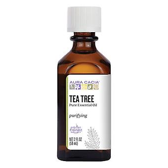 Aura Cacia Eteerinen öljy Teepuu, (melaleuca alternafolia) 2 Fl Oz