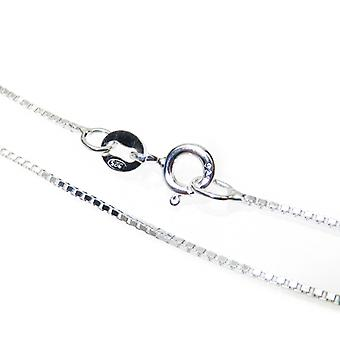 22 Inch Sterling Silver Fine Box Chain Necklace .925 X 1 Chains - 15405