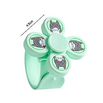 Mosquito Bracelet For Kids And Travel Deet Free Insect(GREEN)
