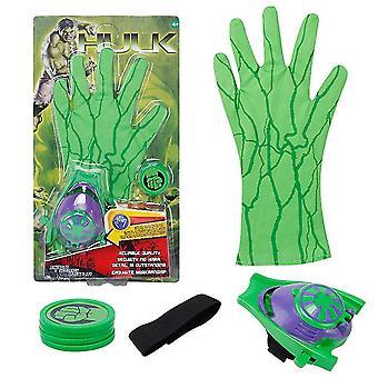 Kinderen speelgoed handschoen zender, accessoires hero handschoen homecoming superheld aankleden kostuums (groen)