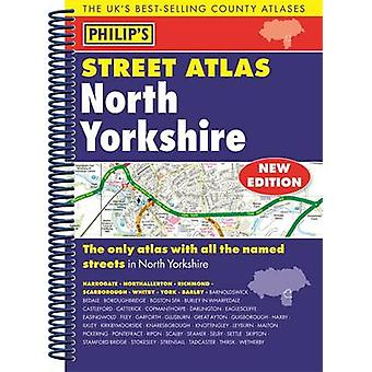 Philips Street Atlas North Yorkshire by Philips