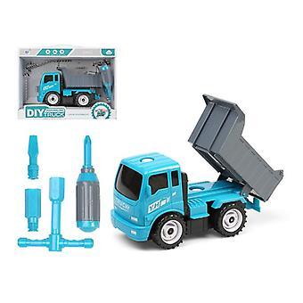 Строительная техника DIY Самосвал грузовик Синий 112589