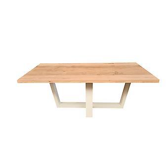 Wood4you - Eettafel Florida Eikenhout 150Lx78Hx96D cm