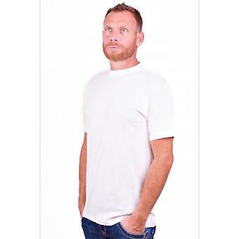Alan rotes T-shirt Virginia White (extra lang) (Two Pack)