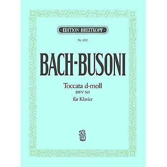 Busoni: Toccata och Fugue i D-minderårig (efter Bach BWV 565)