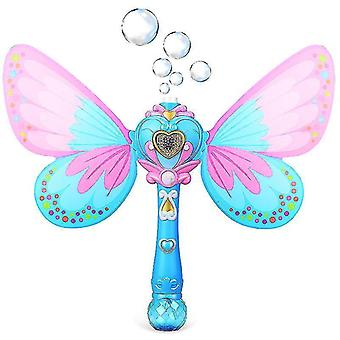 Волшебная пузырьковая палочка Blower Мюзикл Зажечь бабочку Пузыри Toy