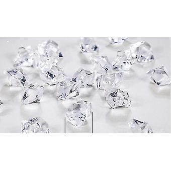 Transparent Granule Artificial Ice Photography Props