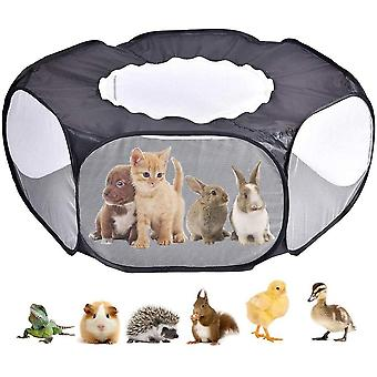 Animal Tente Lapin Cochon d'Inde Cage Tente Avec Couverture Animal Portable Game Fence Hamster Outdoor Indoor Fence