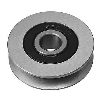 プーリー、ブロックは50x13mm 512kg産業チタニウムの鉄uタイプの軸受けケーブルの滑車負荷ppm-584をシーブする