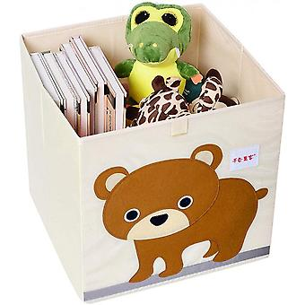 Household Children's Toy Fabric Storage Box, Large Capacity Foldable D