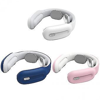 Nackenmassagegerät Elektrische Nackenmassage Analgetikum Werkzeug für die Gesundheitsversorgung und Entspannung der Halswirbelsäuleweiß
