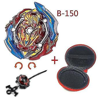 Spinning tops 5 beyblade burst sparking turbo b48 launcher  metal top gyro blade blade spinning fight toys b150