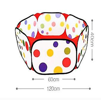 Play tents tunnels 1.2M portable toy tent colorful ocean balls soft plastic pool children tent baby toys christmas gift without