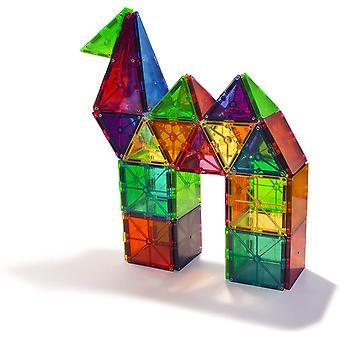 Byggeklosser gjennomsiktig magnetisk ark