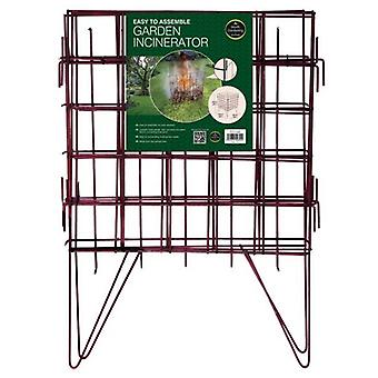 Easy To Assemble Garden Incinerator Gardening
