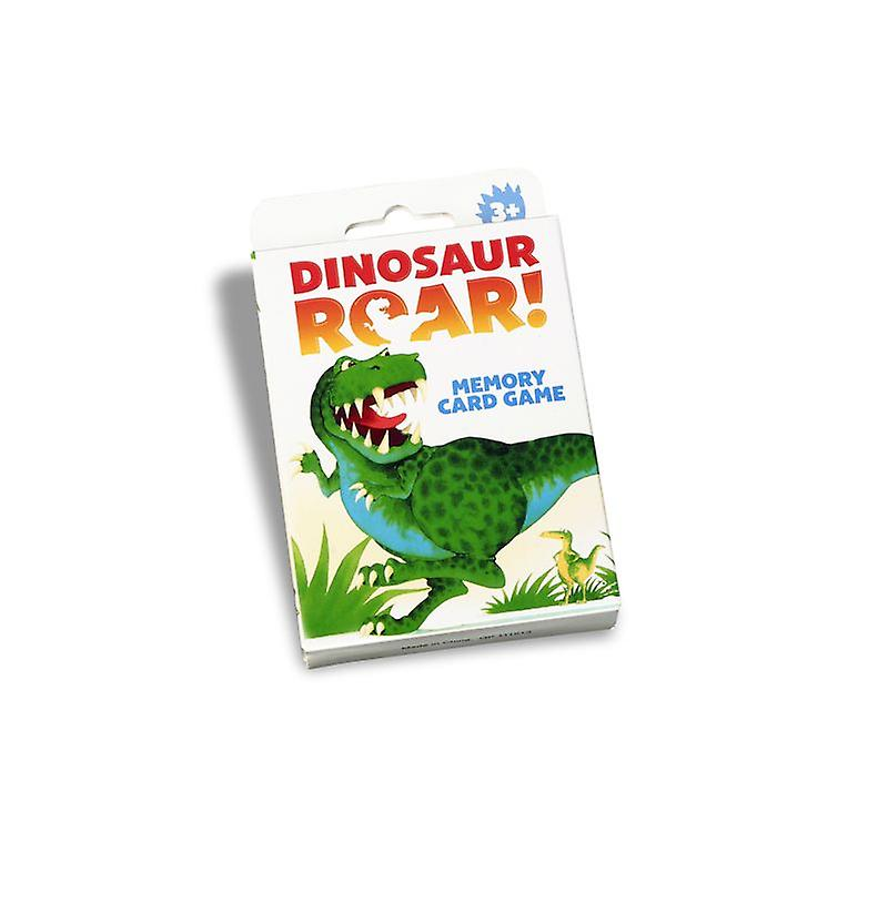 Dinosaur Roar! Memory Card Game 3y+