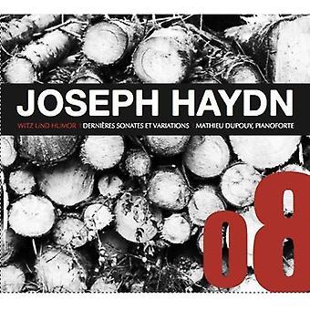 J. Haydn - Joseph Haydn: Witz Und Humor; DerNI Res Sonates Et Variations [CD] USA importieren