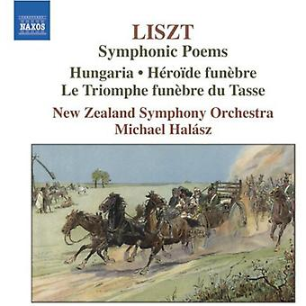 F. Liszt - Liszt: Symphonic Poems [CD] USA import
