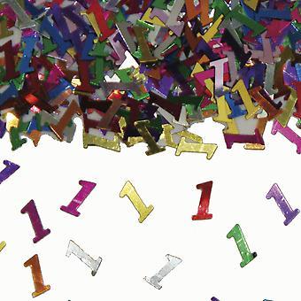 Festa de aniversário de confete do Deco mesa confetes número 1