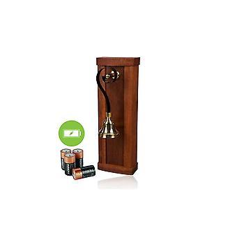 ideas4lighting Mulino mahagon dřevěné Bateriové dveře poháněné bateriemi