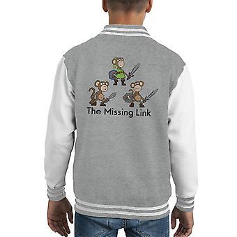 The Missing Link Zelda Kid's Varsity Jacket