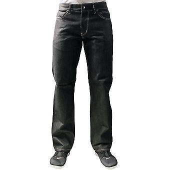 Lrg Grass Roots True Straight Fit Jeans Raw Black