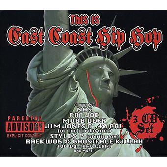 Esto es el East Coast Hip Hop - esta importación de Estados Unidos es East Coast Hip Hop [CD]