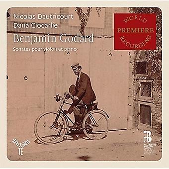 ゴダール、B./Dautricourt、ニコラス ・ Ciocarlie、ダナ - ヴァイオリン ・ ピアノ [CD] 米国のためのソナタをインポート/