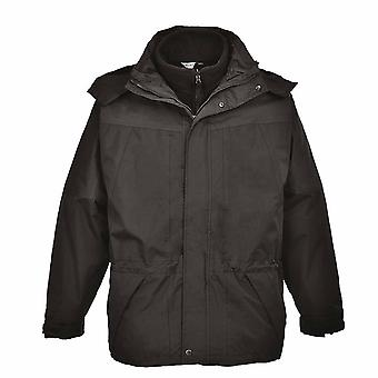 Portwest - Aviemore 3 in 1 Mens Detachable Fleece Waterproof Jacket With Hood
