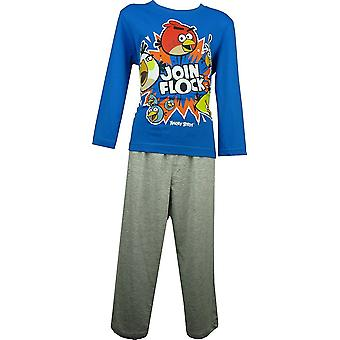 Jungen Angry Birds Langarm-Pyjama-Set