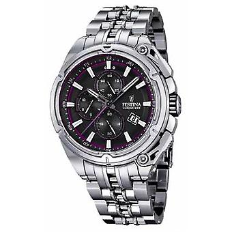 FestinaMens2015Chronobike,BlackDial,PurpleF16881/6 Watch