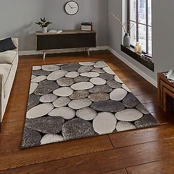 Woodland Rugs 2099 In Cream And Grey