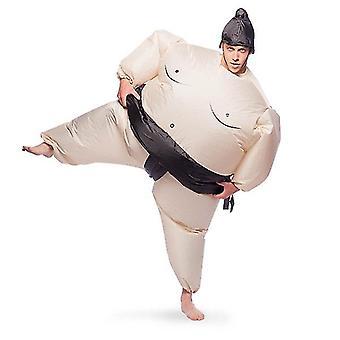 Traje do sumo wrestler inflável Sr