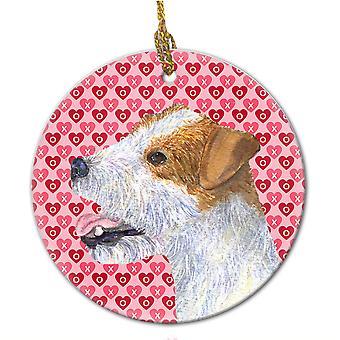 Carolines tesoros SS4504CO1 Jack Russell Terrier adorno cerámica