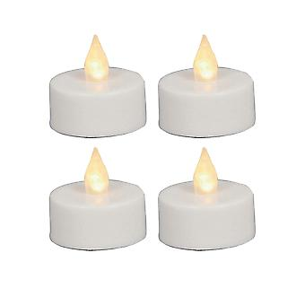 Christmas Shop Electric Tea Lights (Set Of 4)