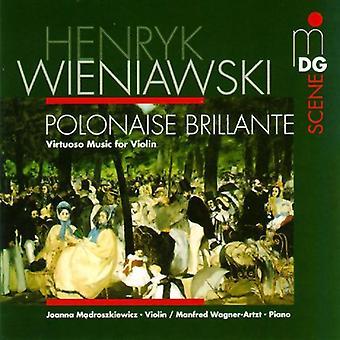 H. Wieniawski - Wieniawski: Virtuoso Music for Violin [CD] USA import