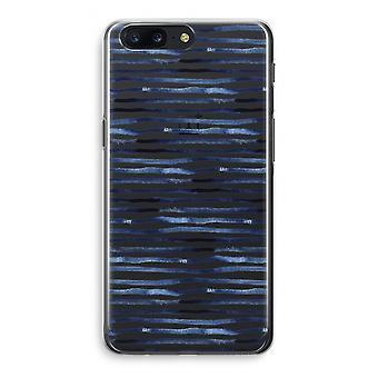 OnePlus 5 Transparant Case (Soft) - Surprising lines