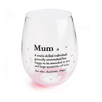Definition Stemless Wine Glass