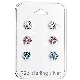 Flower - 925 Sterling Silver Sets - W29116x