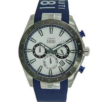 Cerruti 1881 Black watch relógio inox CRA095E255G