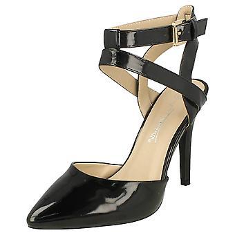 Ladies Anne Michelle High Heel caviglia cinturino decolleté