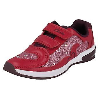 Chat chicas Clarks Casual zapatillas con luces Piper