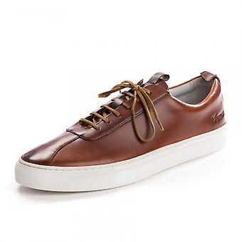 Grenson Grenson Sneaker 1 Handpainted Tan Mens formateur