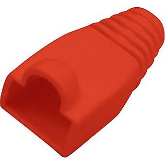 BKL Electronic Kink protection sleeve RJ45 plug 143058 Bend relief Red 1 pc(s)