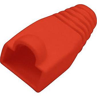 Manicotto di protezione Kink RJ45 spina scarico della piegatura rosso BKL Electronic 143058 1/PC