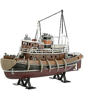 Revell 05207 Harbour hinaaja vene vesijetit assembly kit 1:108