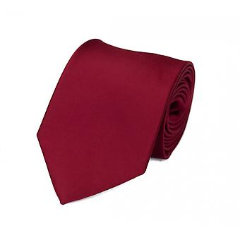 Gravata de laço da gravata 8cm de vinho vermelho escuro vermelho uni Fabio Farini
